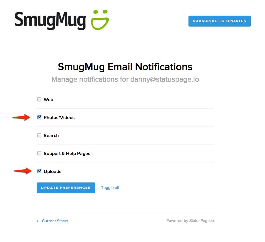 SmugMug Components