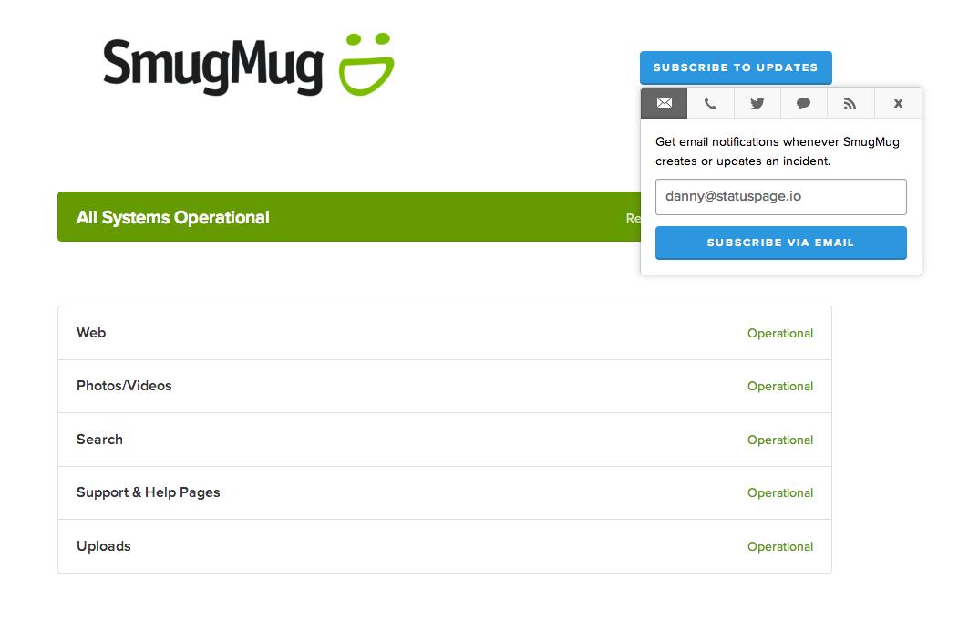SmugMug Page