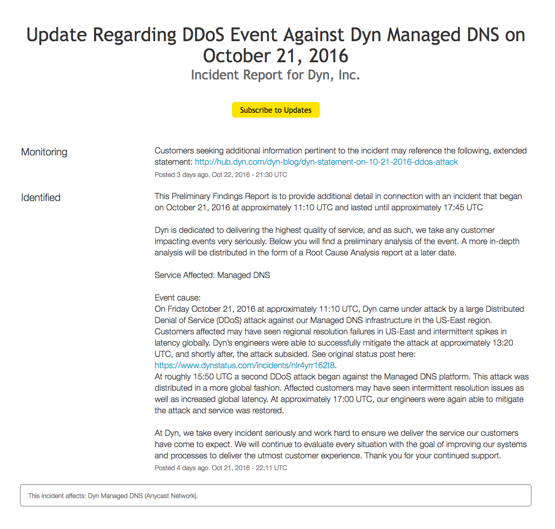 Dyn Post Incident